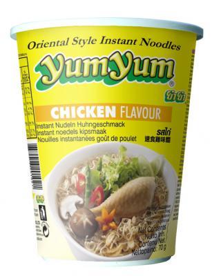 Cup Nudelsuppe mit Chicken / Huhngeschmack - yu...