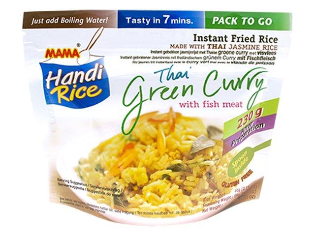 MAMA - Handi Rice Green Curry + fishballs - 80 ...