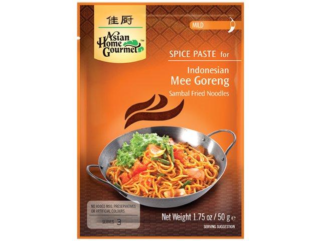 AHG - Würzpaste für Mee Goreng - indonesisches Nudelgericht - ohne Zusätze - natürlicher Genuss - 50 g - bei asiafoodland.de