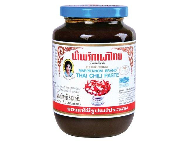 Mae Pranom - Thai Chilipaste in Öl - 513 g - be...