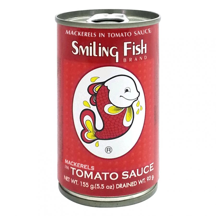 Smiling Fish - Makrelen in Tomatensauce - 155 g...