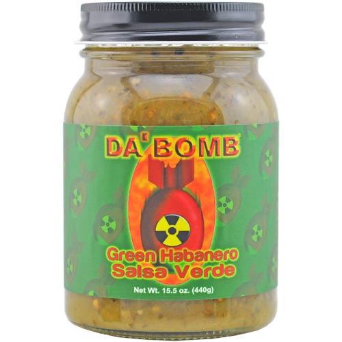 Da Bomb - Green Habanero Salsa Verde - Stufe 5 ...