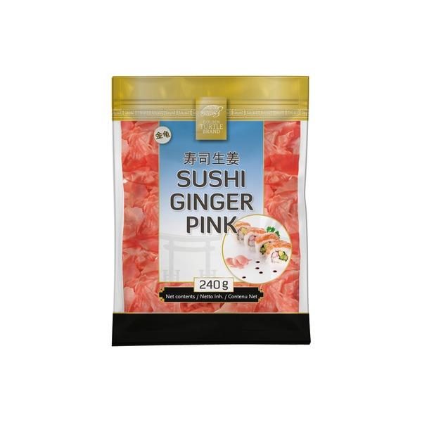 Golden Turtle Brand - Sushi Ingwer Rosa - 160 g...