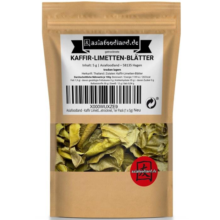 Asiafoodland - Kaffir Limetten Blätter - Lime L...