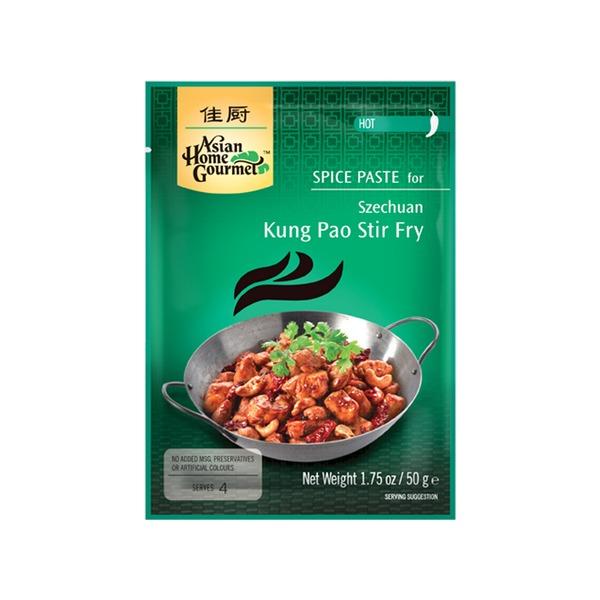AHG - Gewürzpaste für Szechuan Kung Pao Pfannengericht - 50 g - bei asiafoodland.de