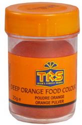 TRS - Lebensmittelfarbe - Pulver - ORANGE - Foo...