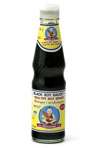 Healthy Boy - Schwarze (dunkle) Sojasauce - 300...