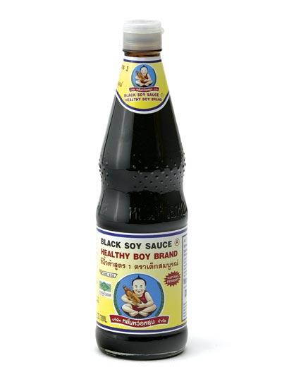 Healthy Boy - Schwarze (dunkle) Sojasauce - 700...