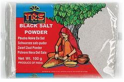 Schwarzes Salz Pulver Kala Namak (Nimak) - TRS ...