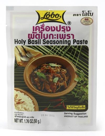 Lobo - Holy Basil Seasoning Paste - Würzpaste mit Basilikum - 50 g - bei asiafoodland.de