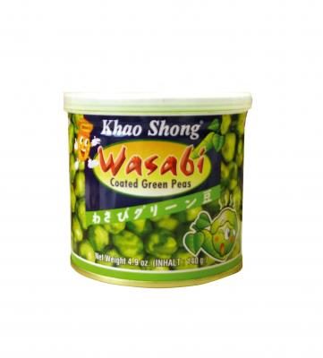 Grüne Erbsen mit Wasabi überzogen - Khao Shong ...