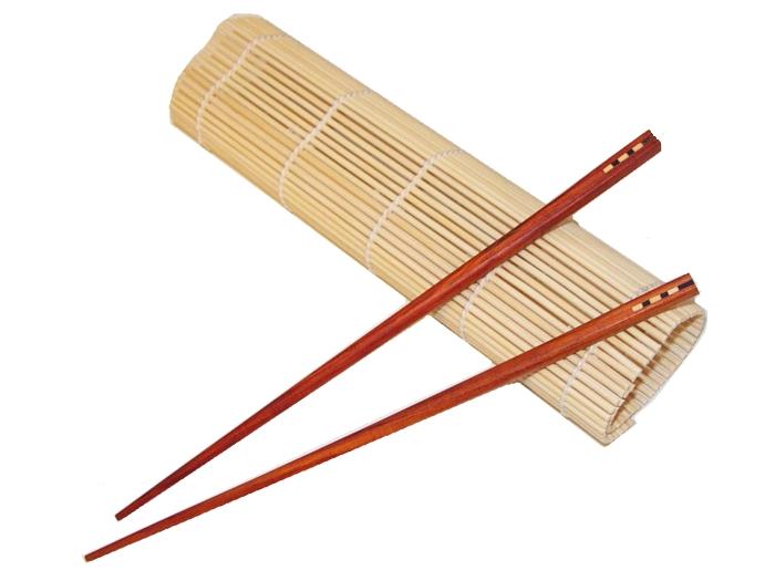 Bambus Sushi Matte - Sushirollmatte - bei asiaf...