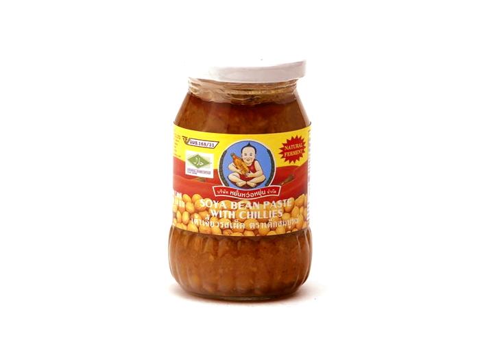 Healthy Boy - Sojapaste mit Chili - Sojabohnen ...