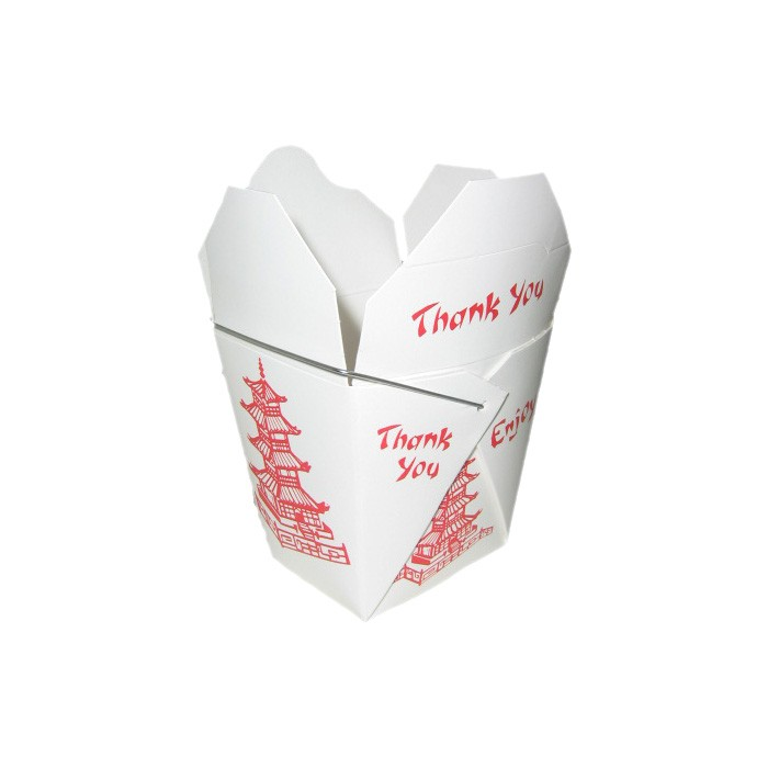 Take Out Box - Fold Pak Box - Asia Design mit B...