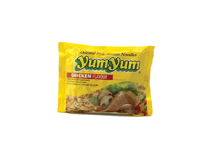 Instant Nudeln mit CHICKEN / HUHN Geschmack - y...