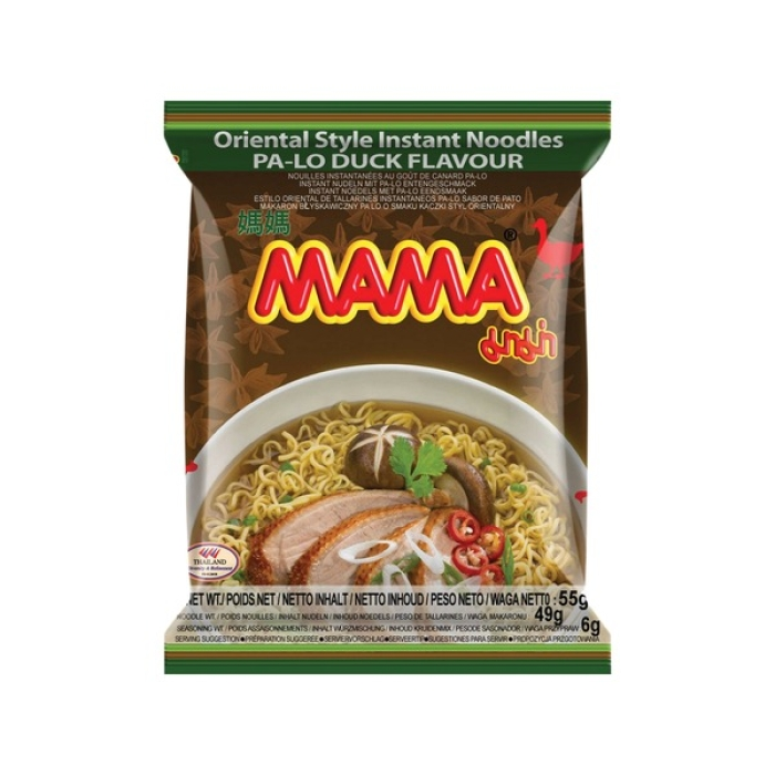 Instant Nudelsuppe PA-LO Ente - MAMA 55g