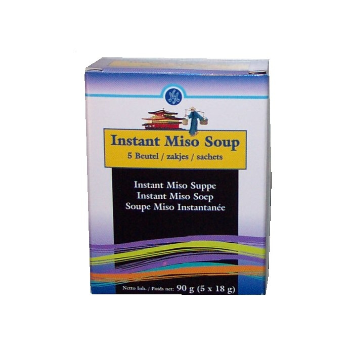 Instant Misosuppe Japan 90g