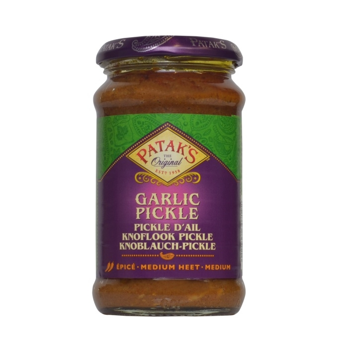 Knoblauch Pickles Patak´s 300g