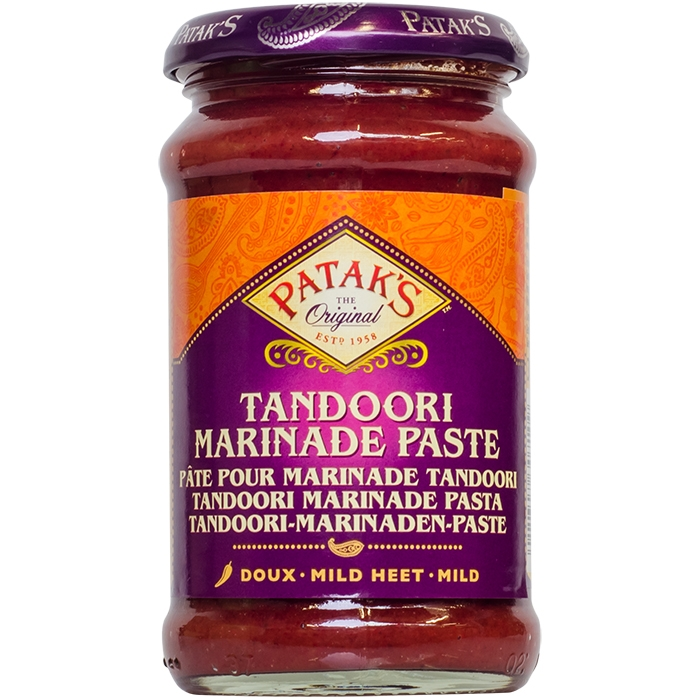 Tandoori Curry Paste - mild - Patak´s 312g