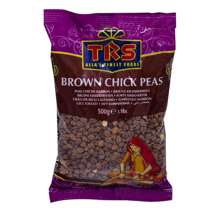 Braune Kichererbsen - brown chick peas - TRS 500g