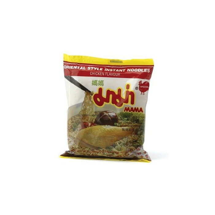 Instant Nudelsuppe mit Huhn Aroma - MAMA chicken 55g