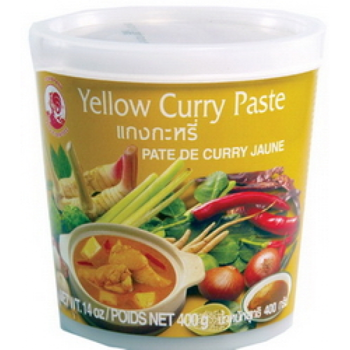Yellow Curry Paste - thailändische gelbe Curry Paste  - 400g