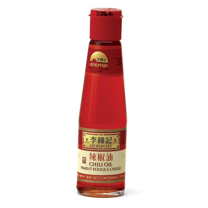 Lee Kum Kee - Chili Oil - hochwertiges Chiliöl - 207ml