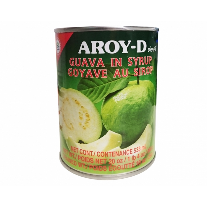 Guava in Syrup - Guave gezuckert 565g - Aroy D