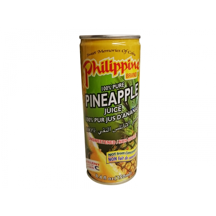 Ananassaft - Pineapple juice - 250ml Philippine Brand