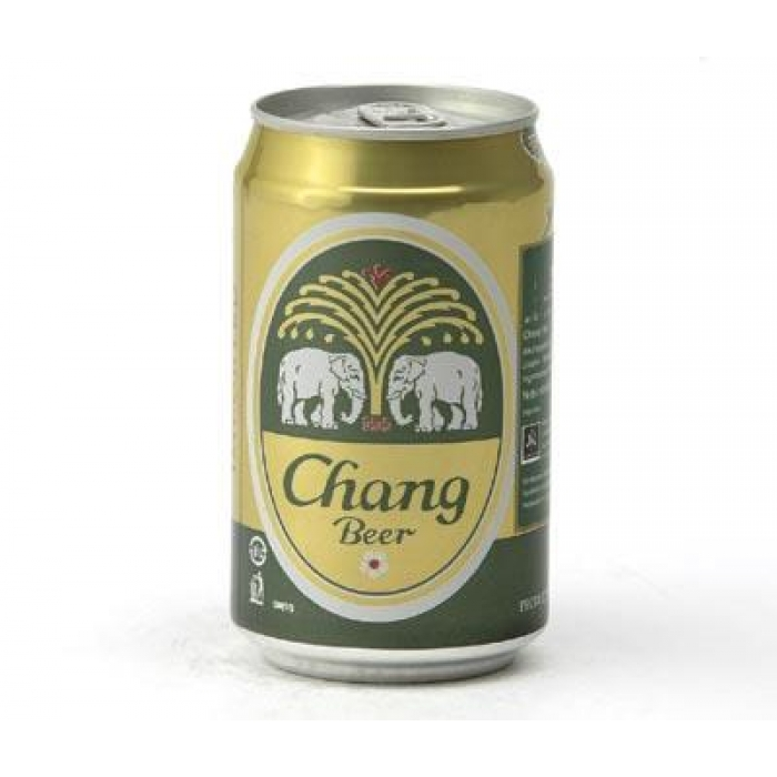 Chang Beer - Chang Bier 5% Vol. Alkohol - Dosenbier - 330ml