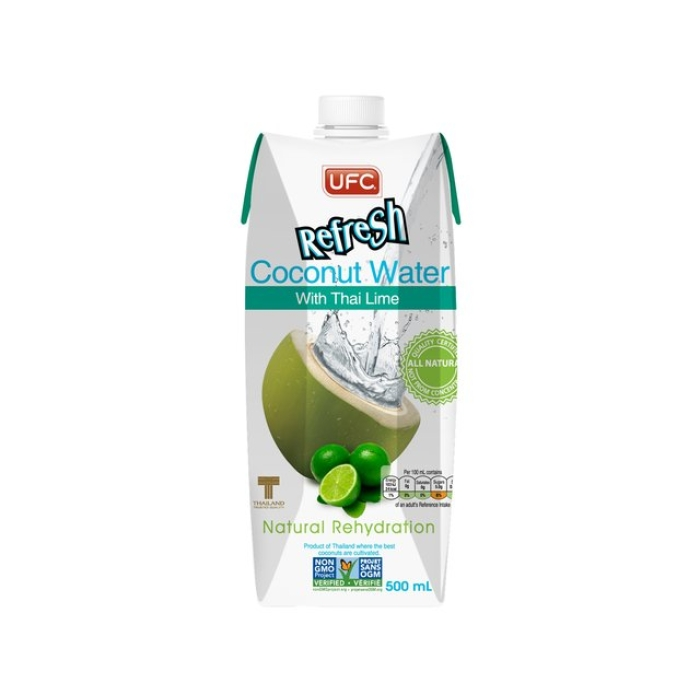 Kokoswasser - Thai Lime - 500 ml