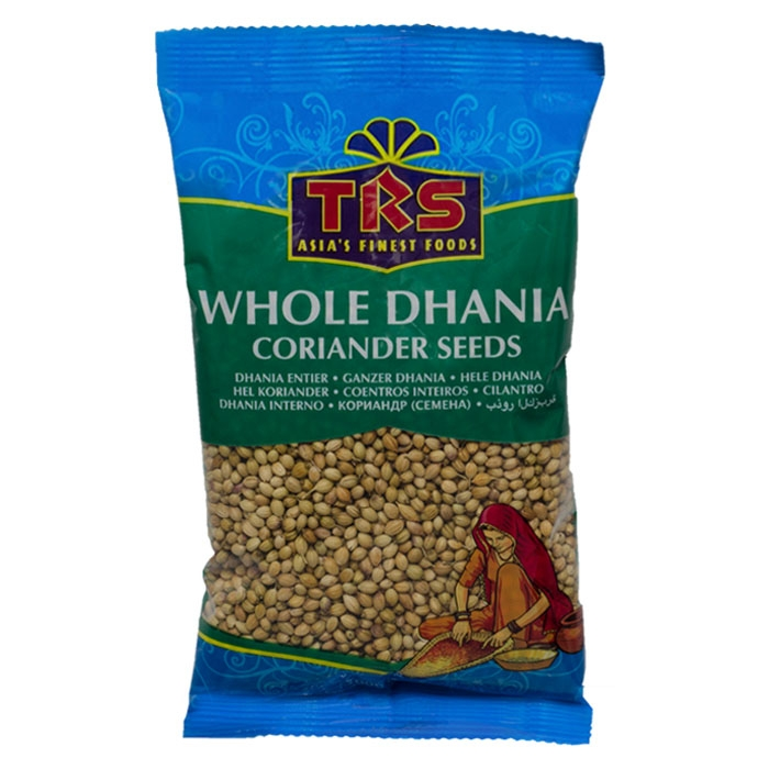 TRS - Whole Dhania - Koriander ganz - 100g