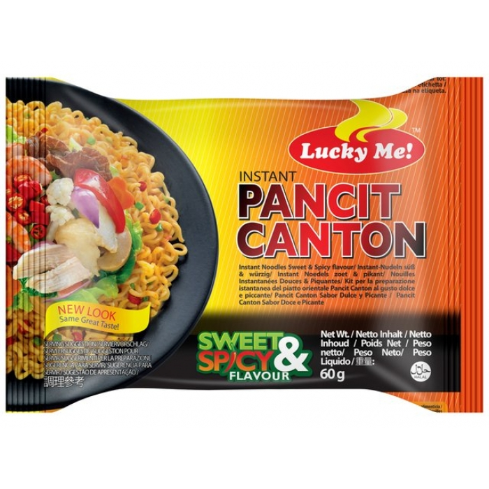 Gebratene Instant - Nudeln - Chow Mein with Sweet & Spicy - 60g