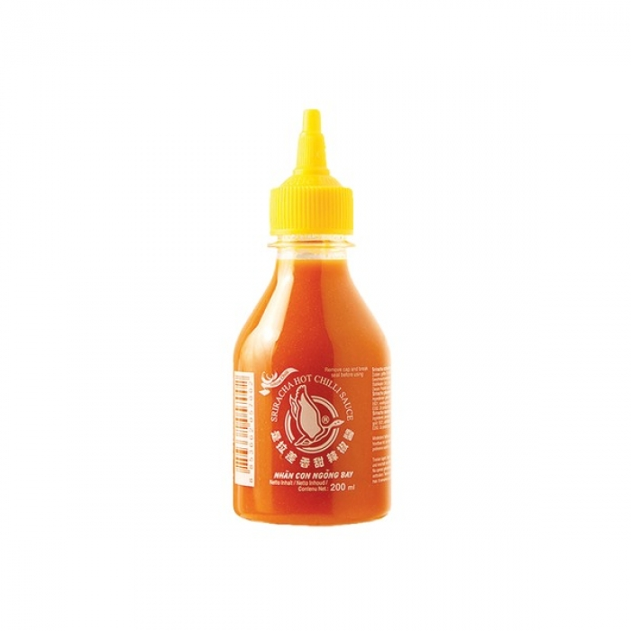 Flying Goose - gelbe Sriracha Chilisauce - 200 ml