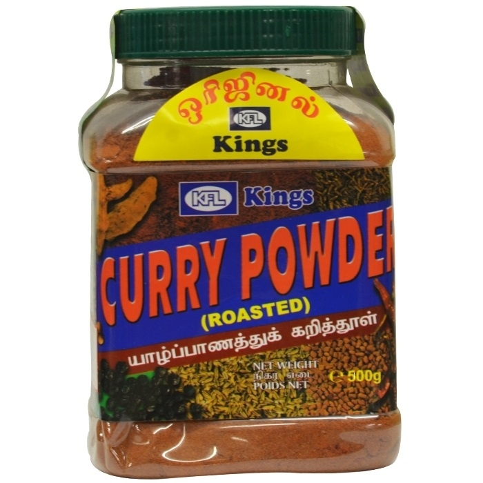 Kings - Curry Pulver - geröstet - 900 g