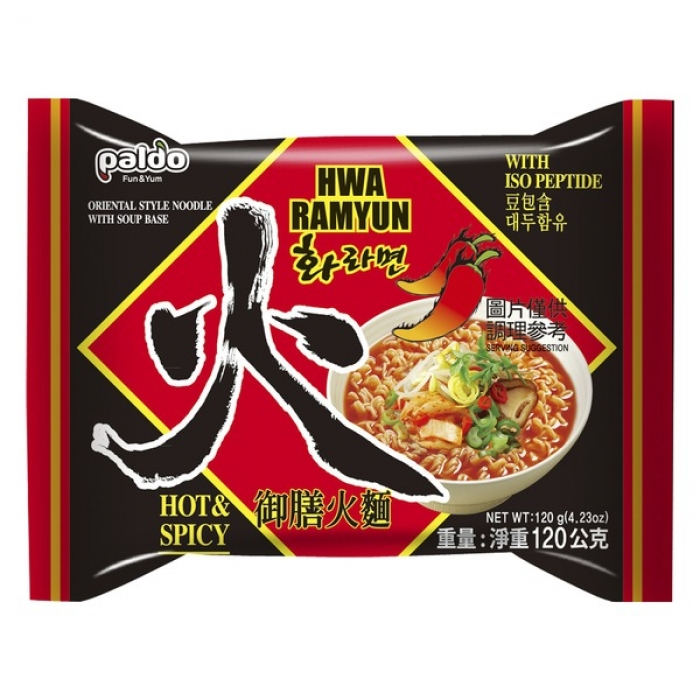 Paldo - Hwa Ramyun (hot & spicy) - 120 g