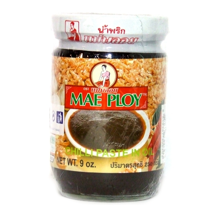 Chili Paste in Bohnenöl - Nam Phrik Paste 250g - Mae ploy