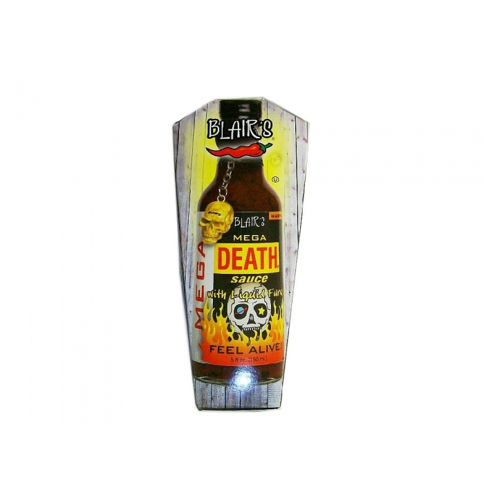 Blair's Mega Death Sauce im Sargdesign 150ml