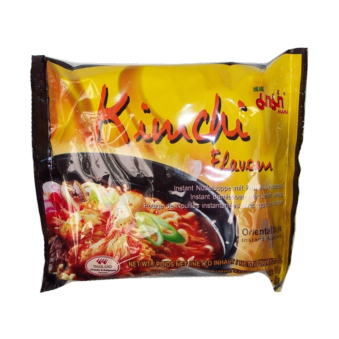 Mama - Instant Nudelsuppe - Kimchi Geschmack - 90g