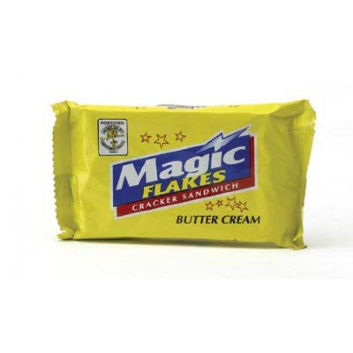 MAGIC FLAKES Sandwich Cracker BUTTER CREAM - (10x28g) 280g