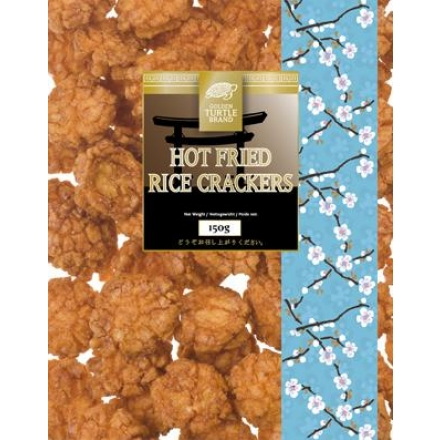 Reiscracker Mix scharf -- HOT FRIED -- 150g