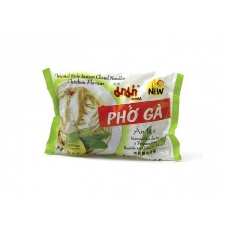 Mama - Instant Nudelsuppe - Reisbandnudeln - Pho Ga - Huhn Aroma - 55g