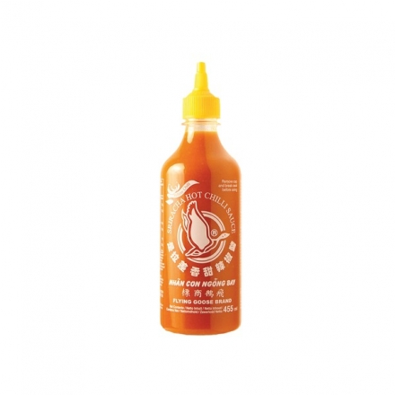Flying Goose - gelbe Sriracha Chilisauce - 455 ml