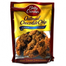 Betty Crocker Oatmeal Chocolate Chip (Cookie Mix) - 496g