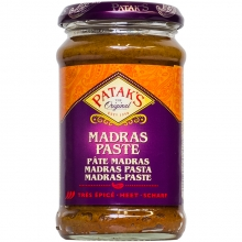 Patak's - Madras - indische Curry Paste - scharf - 283g