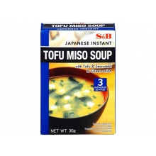 S&B - Instant Tofu Miso Suppe - 30 g