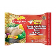 Lucky Me - Instant Nudelsuppe Chicken Mami - 70g