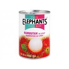 Twin Elephant - Rambutan in Syrup - 230 g
