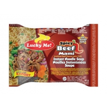 Lucky Me - Instant Nudelsuppe Spicy Beef Mami - 60g
