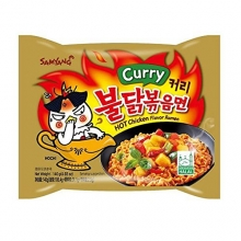 Samyang - Instant Bratnudeln - Curry Hot Chicken Flavour Ramen - 140 g